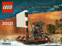 View Instructions For 30131-1 - Jack Sparrow in Boat