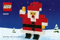 View Instructions For 40001-1 - Santa Claus