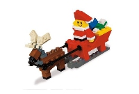View Instructions For 40010-1 - Santa with Sleigh