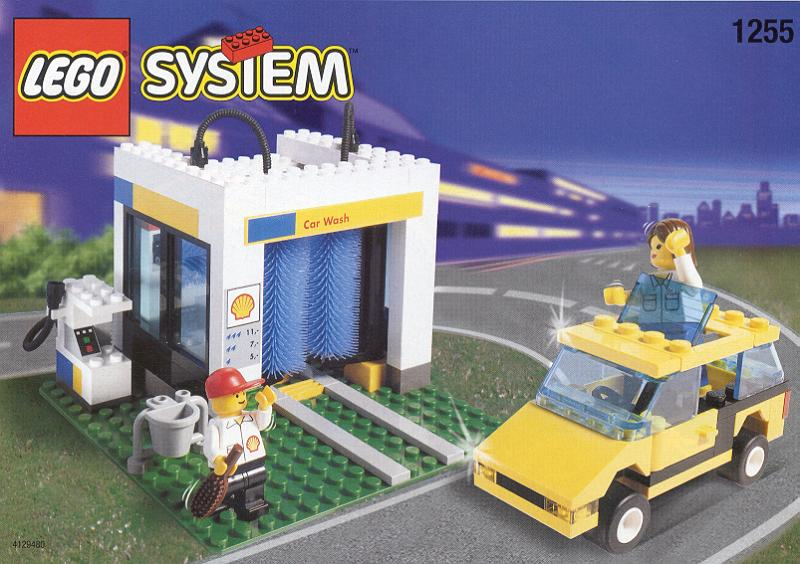 lego service station instructions
