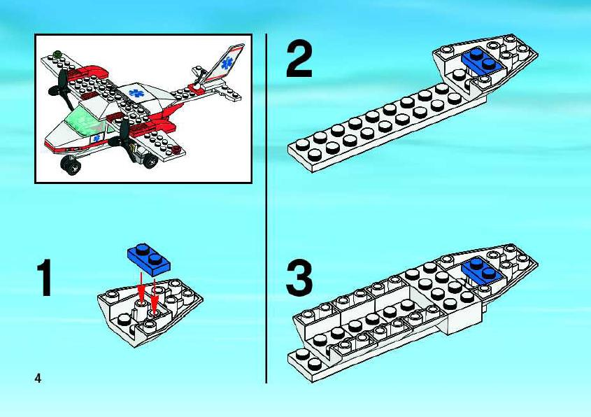 Instructions For 2064 1 Air Ambulance Bricksgz