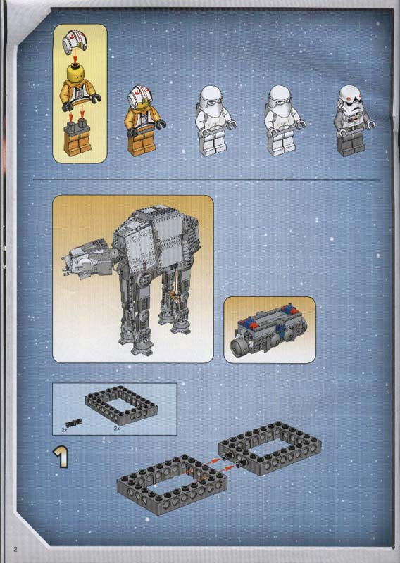 Instructions For 4483 1 Imperial At At Bricksgz