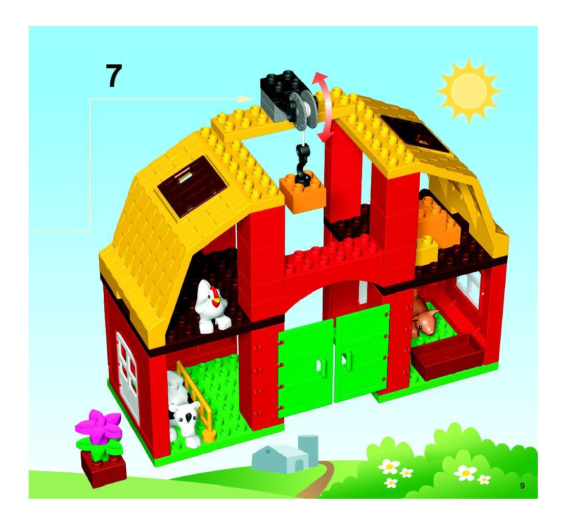 Instructions For 5649 1 Big Farm Bricksargzcom