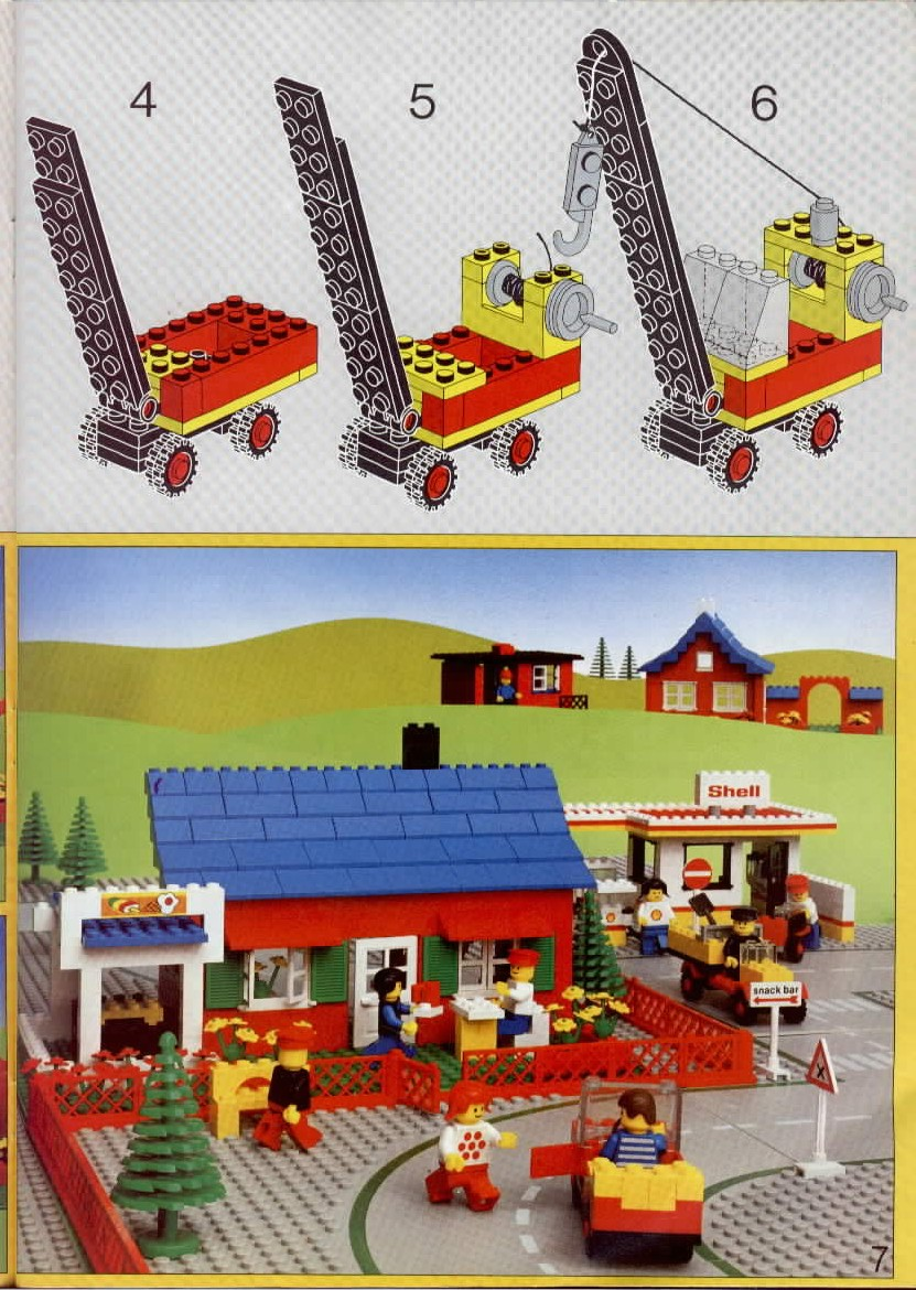 Instructions For 6000 1 Legoland Idea Book Bricksgz
