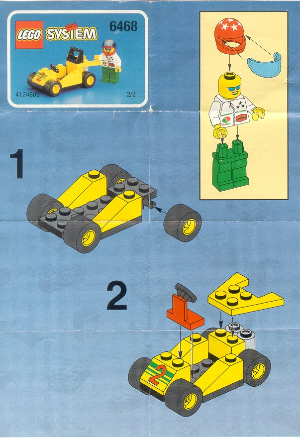 Instructions For 6468 1 Tow N Go Value Pack Bricksgz