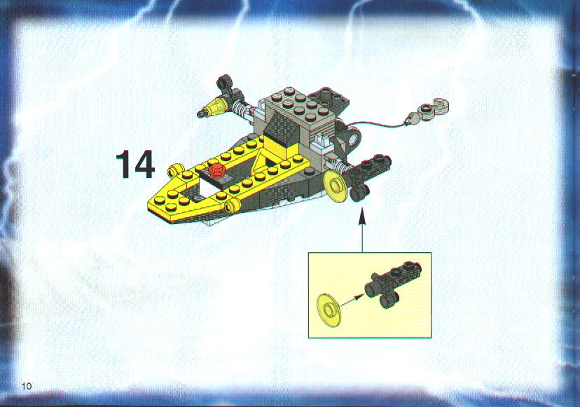 Instructions For 6773 1 Alpha Team Helicopter Bricksgz