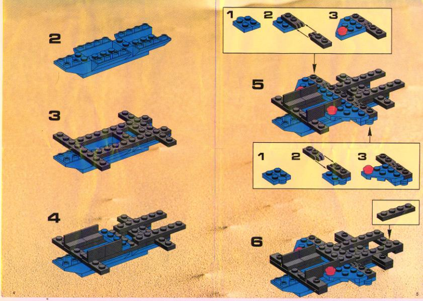 Instructions For 6886 1 Galactic Peace Keeper Bricksgz