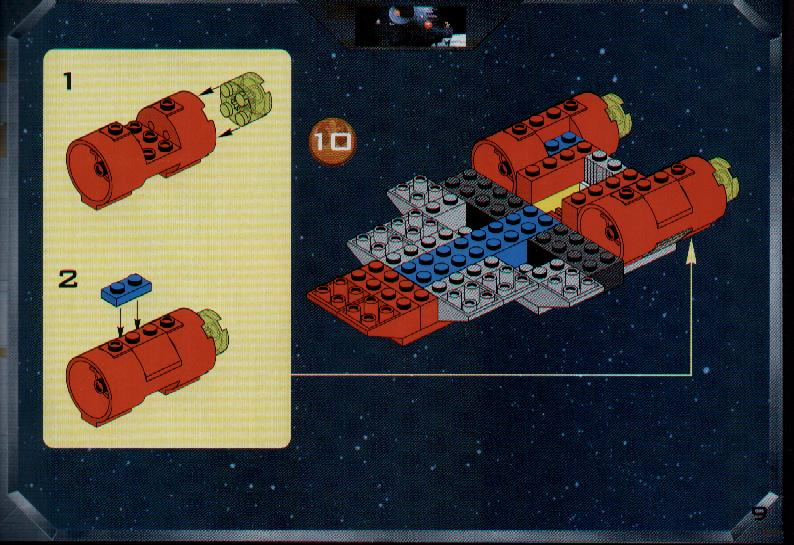 Instructions For 7134 1 A Wing Fighter Bricksgz