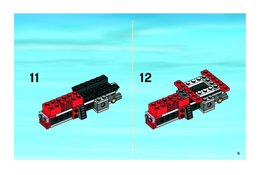 Instructions For 7634 1 Tractor Bricksgz