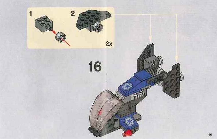 Instructions For 7667 1 Imperial Dropship Bricksgz