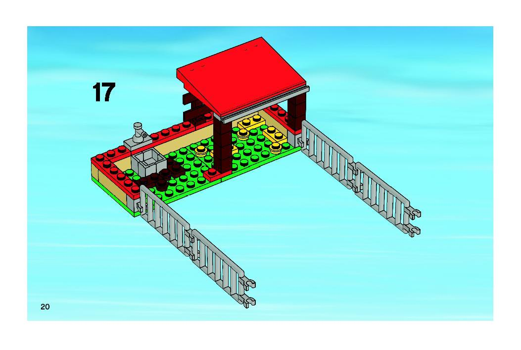 Instructions For 7684 1 Pig Farm Tractor Bricksgz