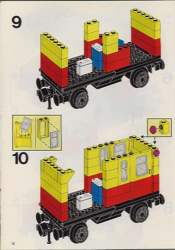 Lego 7722 steam cargo train, battery set parts inventory and.