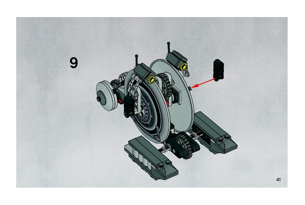 Instructions For 7748 1 Corporate Alliance Tank Droid Bricks