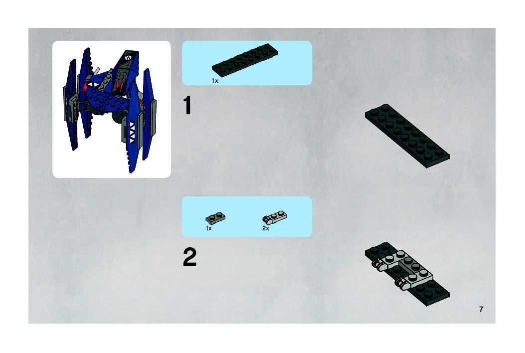 Instructions For 7751 1 Ahsokas Starfighter Droids Bricks