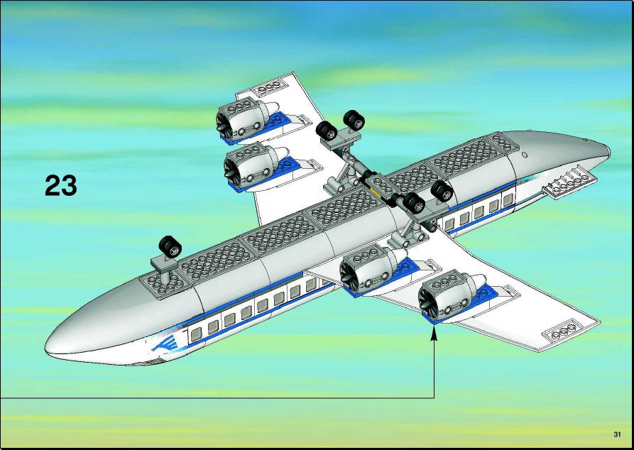 Lego Airplane Instructions 7893 The Best And Latest Aircraft 2018