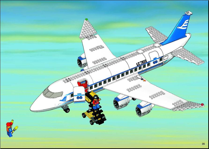 Lego Airplane Instructions The Best And Latest Aircraft 2018