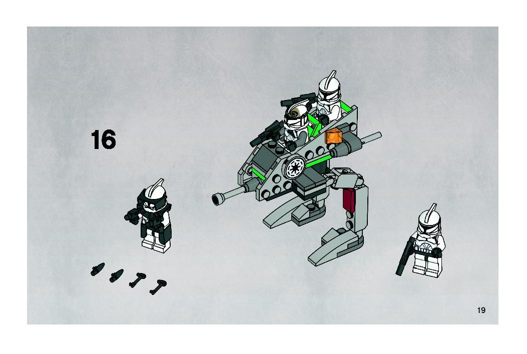 Instructions For 8014 1 Clone Walker Battle Pack Bricksgz