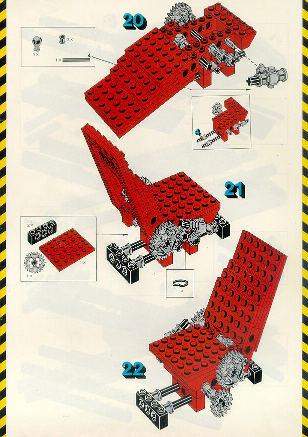 Instructions For 8860 1 Auto Chassis Bricksgz