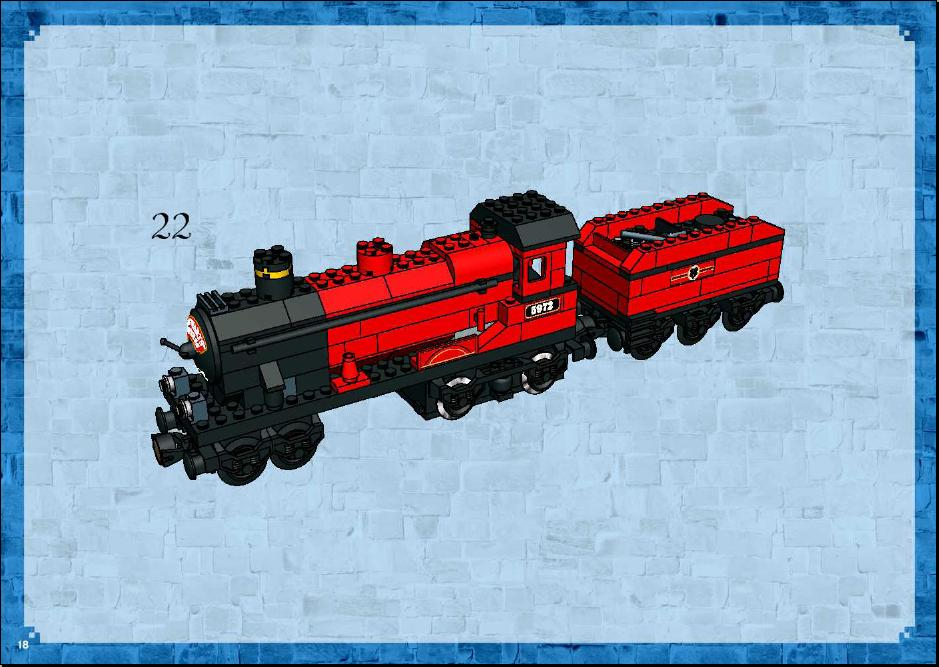 Instructions For 10132 1 Motorized Hogwarts Express Bricksgz