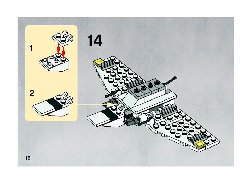Instructions For 20016 1 Mini Imperial Shuttle Bricksgz