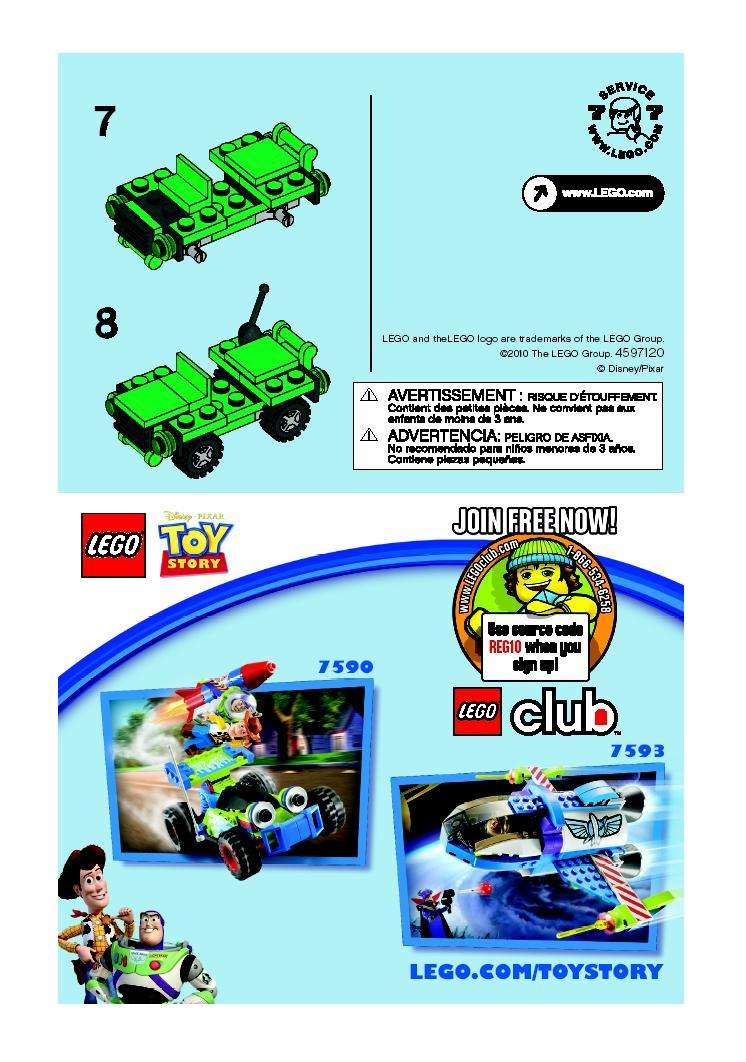 Instructions For 30071 1 Army Man Polybag Bricksgz